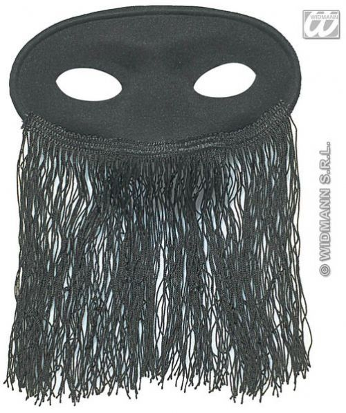 Eyemask Veiled Odalisque Black Eye-Mask Masquerade Ball Mask Fancy Dress